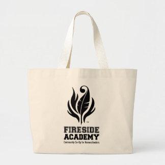 Academia da lareira bolsa para compra