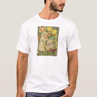 Açafrão do Daffodil do ovo da pintura do coelhinho T-shirt