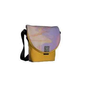 Açafrão médio do design da consciência da bolsa bolsas mensageiro