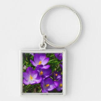 Açafrões do Lilac Chaveiro
