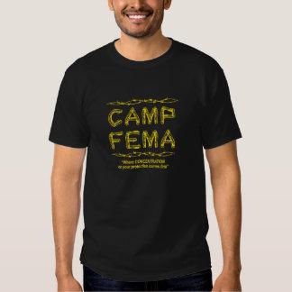 Acampamento Fema Tshirt