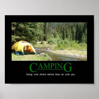 Acampamento Poster