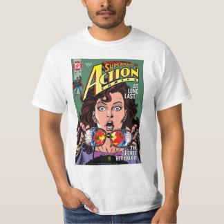 Ação história em quadrinhos #662 fevereiro de 91 camiseta