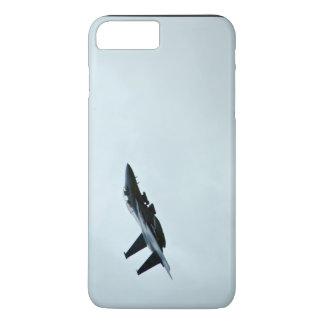 Ação temático, um avião de combate Turing no céu Capa iPhone 7 Plus