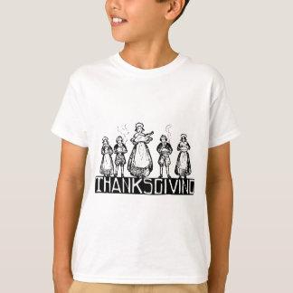acção de graças camisetas