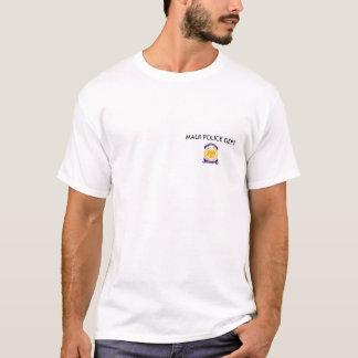 accredtb, departamento da POLÍCIA de MAUI Camiseta