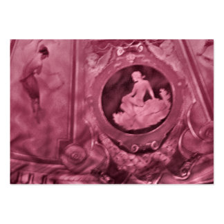 Aceo do ATC das mulheres do vintage Cartão De Visita Grande