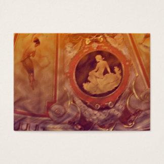 Aceo do ATC das mulheres do vintage Cartão De Visitas