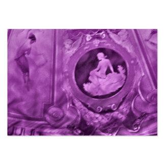 Aceo do ATC das mulheres do vintage Modelo Cartões De Visitas