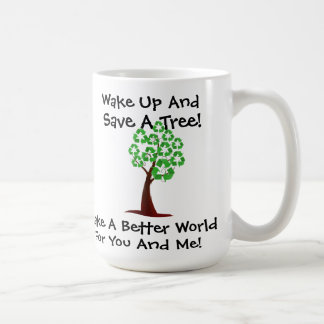 Acorde e salvar uma caneca da árvore