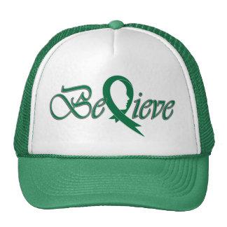 Acredite (Fita-Camionista verde) Boné