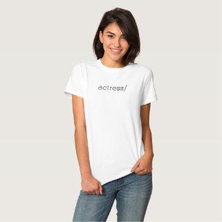 actriz camisetas