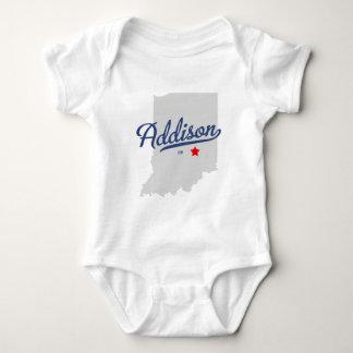 Addison Indiana na camisa