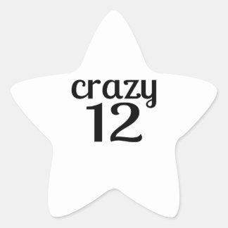 Adesito Estrela 12 designs louco do aniversário