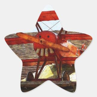 Adesito Estrela Avião do vintage por Shirley Taylor