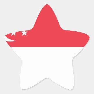Adesito Estrela Baixo custo! Bandeira de Singapore