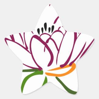 Adesito Estrela Coração de Lotus