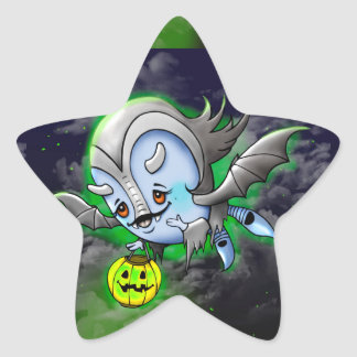 Adesito Estrela ESTRELA REDONDA pequena, 1 ½ do monstro da