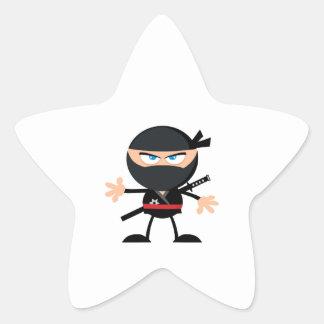 Adesito Estrela Guerreiro de Ninja dos desenhos animados