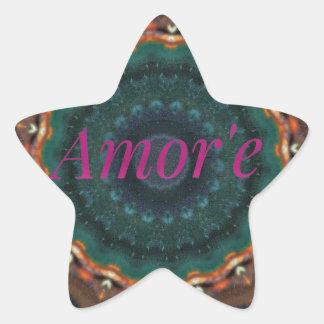 Adesito Estrela Mandala magenta verde neutra de Amor'e do género