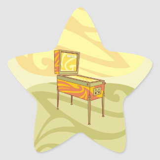 Adesito Estrela Máquina de Pinball