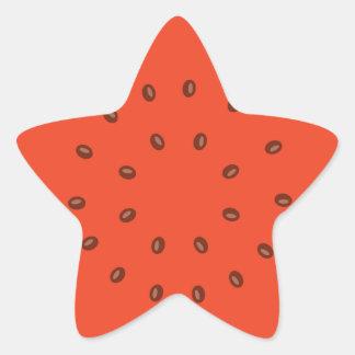Adesito Estrela melancia para dentro