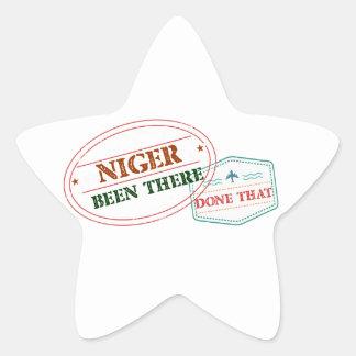 Adesito Estrela Niger feito lá isso