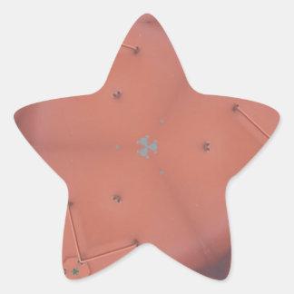 Adesito Estrela Teste padrão neutro do abstrato do pêssego