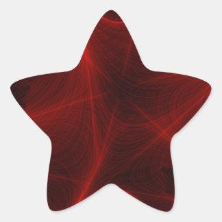 Adesito Estrela teste padrão vermelho do laser