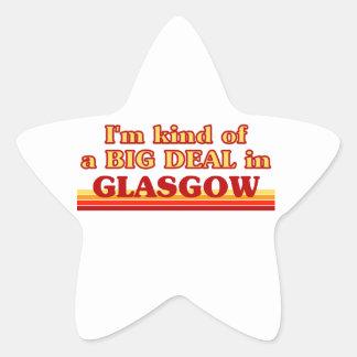 Adesito Estrela Tipo de I´m de uma grande coisa em Glasgow