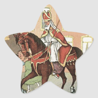 Adesito Estrela Vintage holandês São Nicolau do St. Nick de