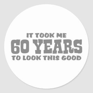 Adesivo 60th Aniversário