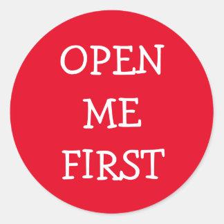 Adesivo Abra-me primeiramente
