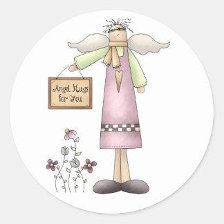 Adesivo Abraços do anjo para Você-Etiquetas