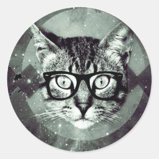 Adesivo Amantes dos animais do animal de estimação do gato