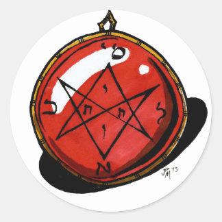 Adesivo Amuleto do Dia das Bruxas