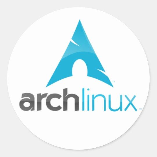 Adesivo arch linux logo