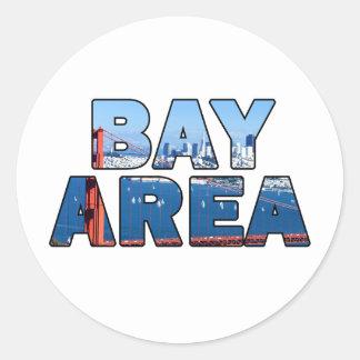 Adesivo Área de San Francisco Bay