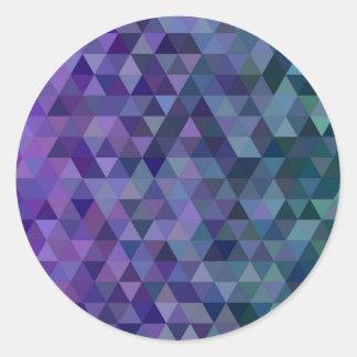 Adesivo Azulejos do triângulo