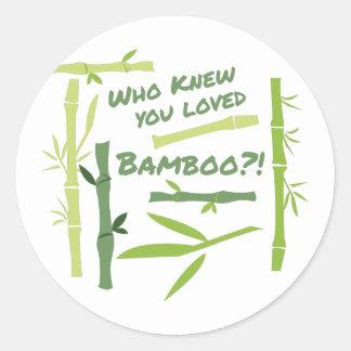 Adesivo Bambu amado