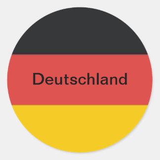 Adesivo Bandeira da alemanha de Alemanha