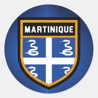 Adesivo Bandeira de Martinica