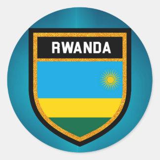 Adesivo Bandeira de Rwanda