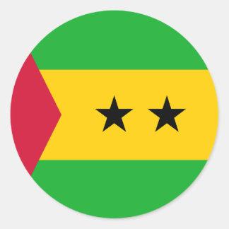 Adesivo Bandeira de Sao Tome and Principe