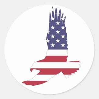 Adesivo Bandeira Eagle dos EUA