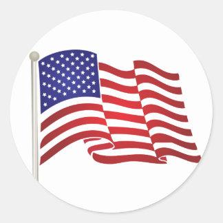 Adesivo Bandeira pólo dos EUA