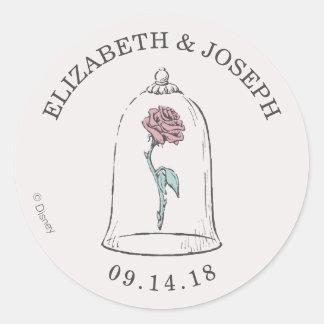 Adesivo Beleza e o casamento cor-de-rosa Enchanted | do