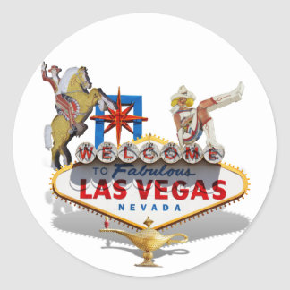 Adesivo Boa vinda a Las Vegas