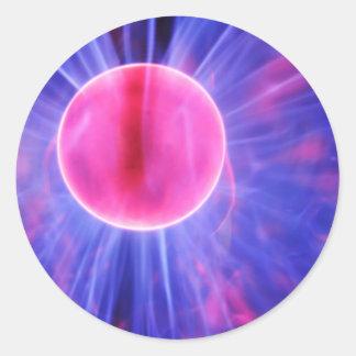 Adesivo Bola do plasma