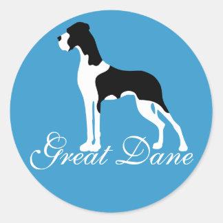 Adesivo Boston Mantle Great Dane